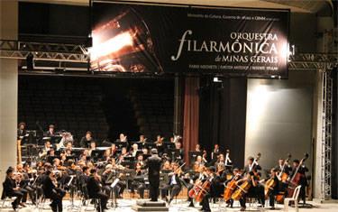 Orquestra Filarmônica de Minas Gerais embala noite de sábado de Araxá