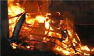 Polícia Militar procura autor acusado de atear fogo em casa