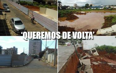 Moradores organizam manifestação contra descaso na rua Francelino Cardoso