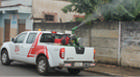 Carro fumacê intensifica combate à dengue em Araxá