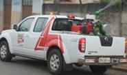 Secretaria Municipal de Saúde divulga itinerário do carro fumacê