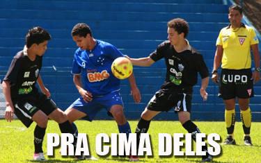 Gansinho enfrenta o Cruzeiro nas semifinais do Mineiro