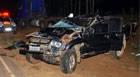 Gerente de fazenda perde a vida após capotar caminhonete