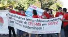 Cefet faz marcha para pressionar governo a negociar greve