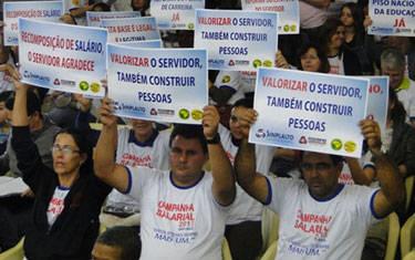 Sinplalto espera grande adesão dos servidores na Assembleia desta terça-feira