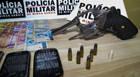 PM prende três suspeitos de assalto a postos e casa lotérica