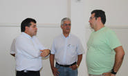 Bosco visita obras da reforma da Igreja do Barreiro