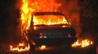 PM registra incêndio em veículo causado por crianças