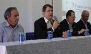 Vereadores participam de lançamento da incubadora de empresas do Cefet