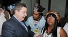Andaia recepciona governador durante Conferência de Segurança Alimentar