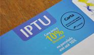 Vencimento do IPTU é prorrogado até o dia 31 de março