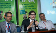 Governo faz balanço da primeira etapa do IPVA 2013