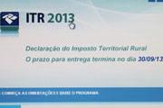 Prazo para declaração do ITR termina dia 30