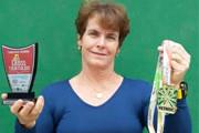 Jane é tetra campeã brasileira de Cross Triathlon