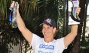 Jane Porfírio assegura vaga em dois mundiais de triathlon