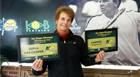 Jane vence torneio de tênis em Serra Negra