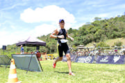 Araxaense vence etapa do mais tradicional circuito de triatlo olímpico da América Latina