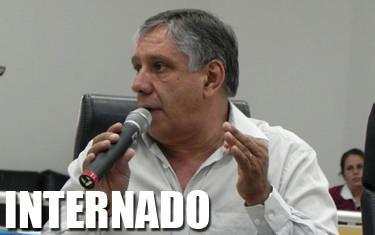 José Domingos Vaz é internado na UTI da Santa Casa