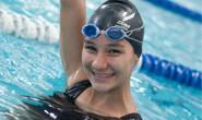 Júlia Harumi Fukada é a nova promessa da natação