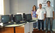 Centro Educacional Julio Dário recebe computadores do Sindicato Rural
