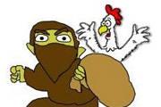 Ladrão de galinha ataca na madrugada