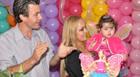 A primeira festa de Larissa