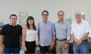 Leandro Haddad recebe comitiva e conhece projetos do setor comercial