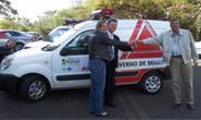 Deputado estadual Lerin consegue ambulância para Araxá