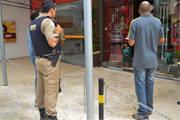 Loja furtada na praça Dom Bosco tem prejuízo de R$ 490 mil
