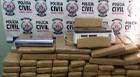 Polícia Civil apreende 15 kg de maconha e prende quatro envolvidos