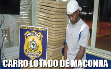 Motorista é preso com mais de 170 kg de maconha pela PRF de Araxá