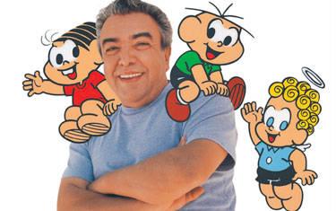 Fliaraxá homenageia cartunista Maurício de Souza