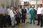 Prefeito visita planta piloto da MbAC Fertilizantes