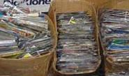 Operação da PM apreende 70 mil mídias piratas em Araxá