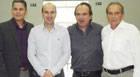 Miguel, Fabiano, Eustáquio e Farley compõem a nova Mesa Diretora da Câmara