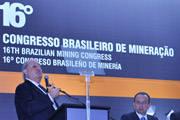 Legislação menos burocrática é defendida em congresso de mineração
