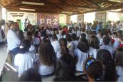 Evento promovido pela Escola Maria de Magalhães desperta a cidadania