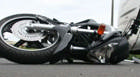 PM registra acidente entre motociclista e carro