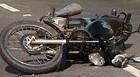 Motociclista inabilitado sofre acidente ao fugir da polícia