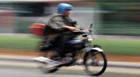 PM prende inabilitado com moto por direção perigosa