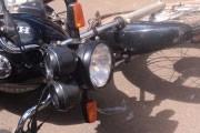 Motociclista fica gravemente ferido em acidente próximo ao aeroporto