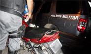 Traficantes são presos durante tentativa de fuga pela BR-262
