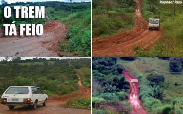 Péssimas condições das estradas rurais dão prejuízos no Mourão Rachado
