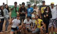Bikers araxaenses fazem bonito em Carmo do Paranaíba