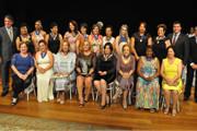 Mulheres são homenageadas com a Medalha Leonilda Montandon