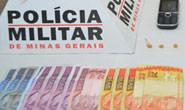 PM prende mulheres com dinheiro e drogas