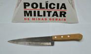 Mulher esfaqueia marido no bairro São Domingos