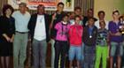 Campeonato society integra alunos do Multiuso