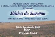 """FCCB e Escola de Música promovem """"Música de Inverno"""" na Serra da Canastra"""