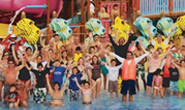 Mergulho Sport Center participa da maior aula de natação do mundo